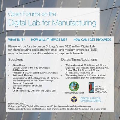 Digital Lab for Manufacturing