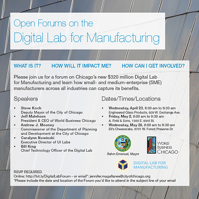 Digital Lab for Manufacturing