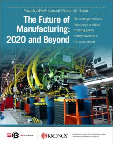 the future of manufacturing