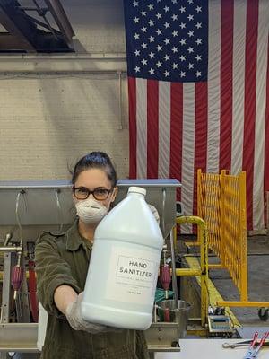 KOVAL sanitizer production - Sonat Birnecker Hart-1